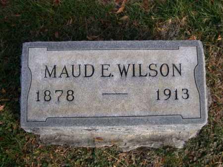 WILSON, MAUDE E. - Dawes County, Nebraska   MAUDE E. WILSON - Nebraska Gravestone Photos