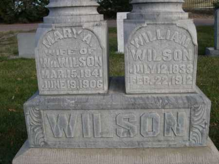 WILSON, WILLIAM - Dawes County, Nebraska | WILLIAM WILSON - Nebraska Gravestone Photos