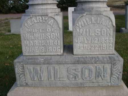 WILSON, WILLIAM - Dawes County, Nebraska | WILLIAM WILSON - Nebraska Gravestone Photos