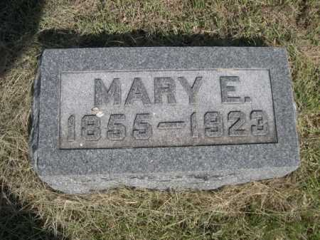 WILSON, MARY E. - Dawes County, Nebraska   MARY E. WILSON - Nebraska Gravestone Photos