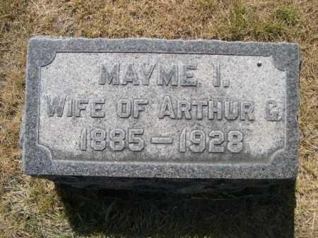 WILSON, MAYME I. - Dawes County, Nebraska | MAYME I. WILSON - Nebraska Gravestone Photos