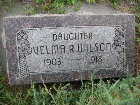 WILSON, VELMA R. - Dawes County, Nebraska | VELMA R. WILSON - Nebraska Gravestone Photos