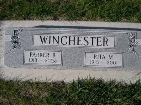 WINCHESTER, PARKER B. - Dawes County, Nebraska | PARKER B. WINCHESTER - Nebraska Gravestone Photos