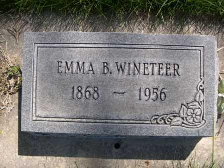 WINETEER, EMMA B. - Dawes County, Nebraska | EMMA B. WINETEER - Nebraska Gravestone Photos