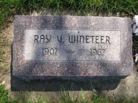 WINETEER, RAY V. - Dawes County, Nebraska   RAY V. WINETEER - Nebraska Gravestone Photos