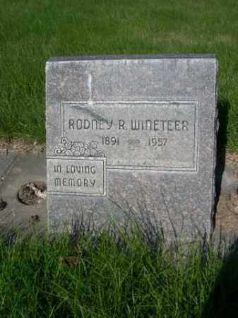 WINETEER, RODNEY R. - Dawes County, Nebraska | RODNEY R. WINETEER - Nebraska Gravestone Photos