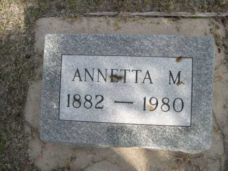 WIPPLE, ANNETTA M. - Dawes County, Nebraska   ANNETTA M. WIPPLE - Nebraska Gravestone Photos