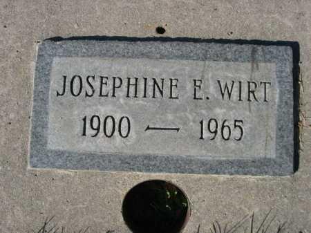 WIRT, JOSEPHINE E. - Dawes County, Nebraska | JOSEPHINE E. WIRT - Nebraska Gravestone Photos