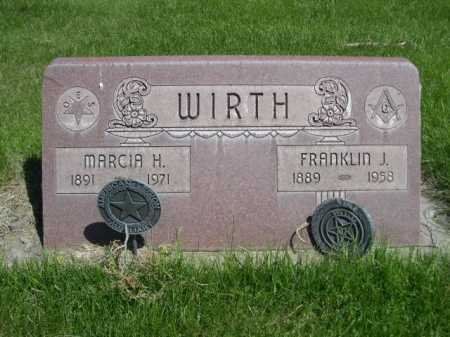WIRTH, MARCIA H. - Dawes County, Nebraska | MARCIA H. WIRTH - Nebraska Gravestone Photos
