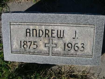 WITTE, ANDREW J. - Dawes County, Nebraska | ANDREW J. WITTE - Nebraska Gravestone Photos