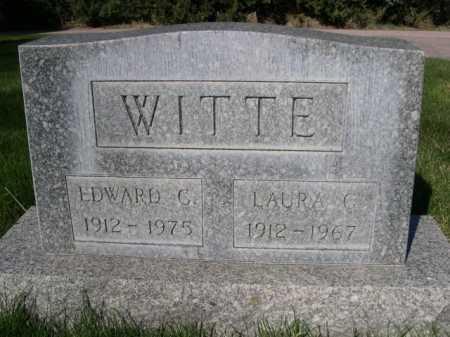 WITTE, EDWARD C. - Dawes County, Nebraska | EDWARD C. WITTE - Nebraska Gravestone Photos