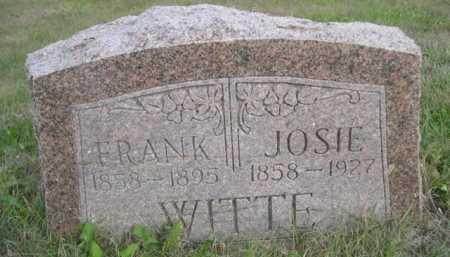 WITTE, FRANK - Dawes County, Nebraska | FRANK WITTE - Nebraska Gravestone Photos