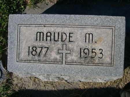 WITTE, MAUDE M. - Dawes County, Nebraska   MAUDE M. WITTE - Nebraska Gravestone Photos