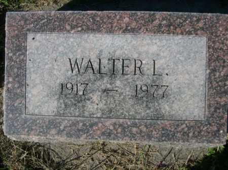WITTE, WALTER L. - Dawes County, Nebraska | WALTER L. WITTE - Nebraska Gravestone Photos