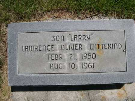 "WITTEKIND, LAWRENCE OLIVER ""LARRY"" - Dawes County, Nebraska 
