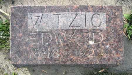 WITZIG, EDWARD - Dawes County, Nebraska | EDWARD WITZIG - Nebraska Gravestone Photos