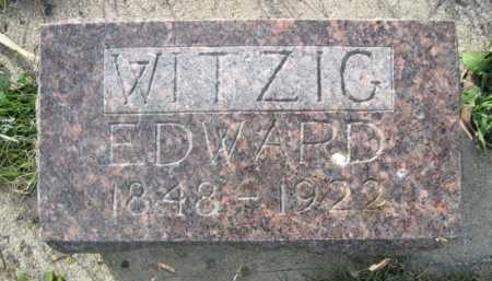 WITZIG, EDWARD - Dawes County, Nebraska | EDWARD WITZIG - Nebraska Gravestone Photos