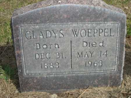 WOEPPEL, GLADYS - Dawes County, Nebraska | GLADYS WOEPPEL - Nebraska Gravestone Photos