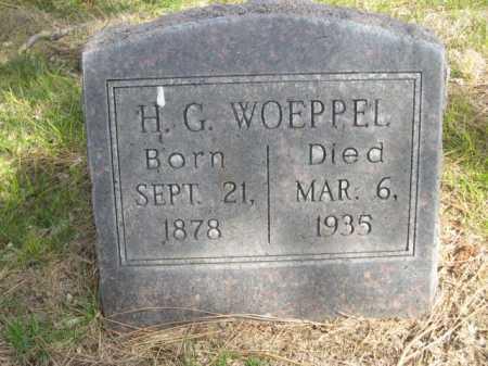 WOEPPEL, H. G. - Dawes County, Nebraska | H. G. WOEPPEL - Nebraska Gravestone Photos