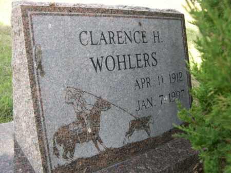 WOHLERS, CLARENCE H. - Dawes County, Nebraska | CLARENCE H. WOHLERS - Nebraska Gravestone Photos