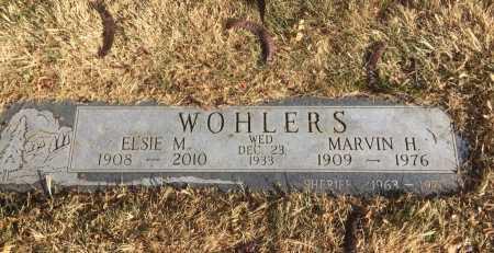 WOHLERS, MARVIN H. - Dawes County, Nebraska | MARVIN H. WOHLERS - Nebraska Gravestone Photos