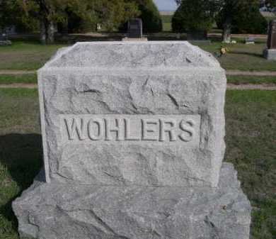 WOHLERS, FAMILY - Dawes County, Nebraska | FAMILY WOHLERS - Nebraska Gravestone Photos