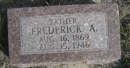 WOHLERS, FREDERICK A. - Dawes County, Nebraska   FREDERICK A. WOHLERS - Nebraska Gravestone Photos