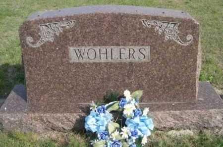 WOHLERS, FAMILY - Dawes County, Nebraska | FAMILY WOHLERS - Nebraska Gravestone Photos