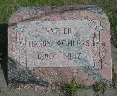 WOHLERS, HARRY - Dawes County, Nebraska | HARRY WOHLERS - Nebraska Gravestone Photos
