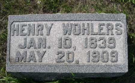 WOHLERS, HENRY - Dawes County, Nebraska   HENRY WOHLERS - Nebraska Gravestone Photos