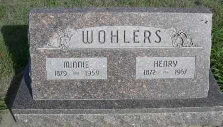 WOHLERS, MINNIE - Dawes County, Nebraska | MINNIE WOHLERS - Nebraska Gravestone Photos