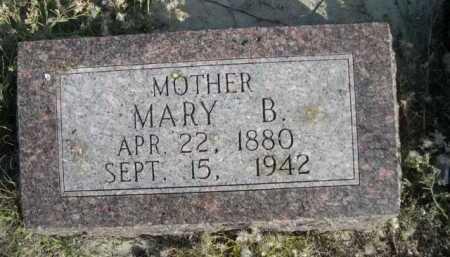 WOHLERS, MARY B. - Dawes County, Nebraska   MARY B. WOHLERS - Nebraska Gravestone Photos