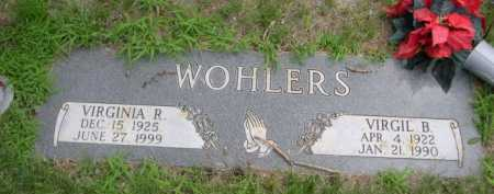 WOHLERS, VIRGINIA R. - Dawes County, Nebraska | VIRGINIA R. WOHLERS - Nebraska Gravestone Photos