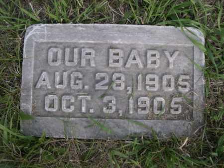 WOLFF, OUR BABY - Dawes County, Nebraska | OUR BABY WOLFF - Nebraska Gravestone Photos