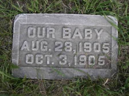 WOLFF, OUR BABY - Dawes County, Nebraska   OUR BABY WOLFF - Nebraska Gravestone Photos