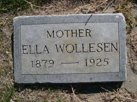 WOLLESEN, ELLA - Dawes County, Nebraska | ELLA WOLLESEN - Nebraska Gravestone Photos