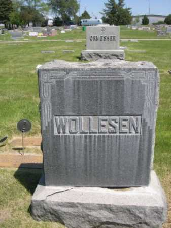WOLLESEN, FAMILY - Dawes County, Nebraska | FAMILY WOLLESEN - Nebraska Gravestone Photos