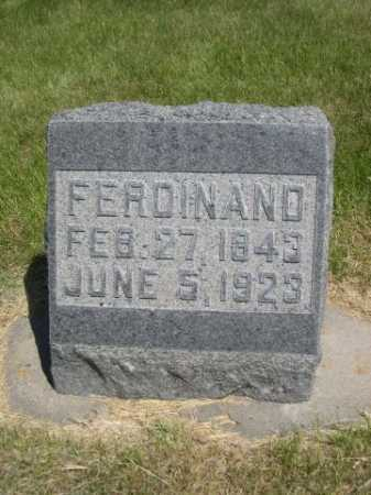 WOLLESEN, FERDINAND - Dawes County, Nebraska | FERDINAND WOLLESEN - Nebraska Gravestone Photos