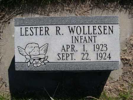 WOLLESEN, LESTER R. - Dawes County, Nebraska | LESTER R. WOLLESEN - Nebraska Gravestone Photos