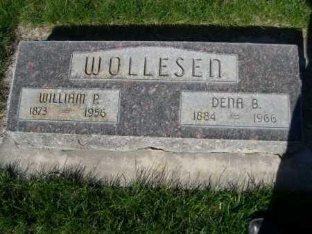 WOLLESEN, WILLAIM P. - Dawes County, Nebraska | WILLAIM P. WOLLESEN - Nebraska Gravestone Photos