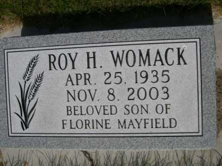 WOMACK, ROY H. - Dawes County, Nebraska | ROY H. WOMACK - Nebraska Gravestone Photos