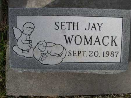 WOMACK, SETH JAY - Dawes County, Nebraska | SETH JAY WOMACK - Nebraska Gravestone Photos