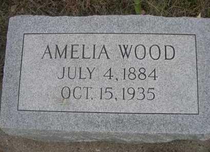 WOOD, AMELIA - Dawes County, Nebraska   AMELIA WOOD - Nebraska Gravestone Photos