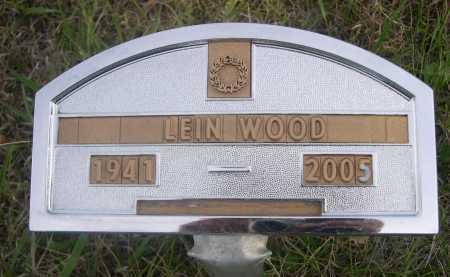 WOOD, LEIN - Dawes County, Nebraska | LEIN WOOD - Nebraska Gravestone Photos