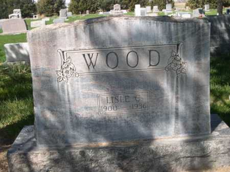 WOOD, LESLE C. - Dawes County, Nebraska | LESLE C. WOOD - Nebraska Gravestone Photos