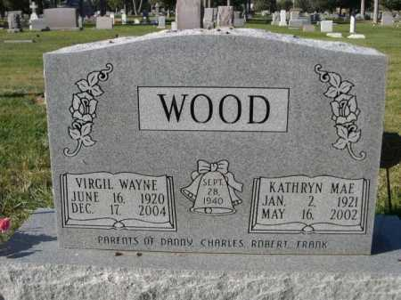 WOOD, VIRGIL WAYNE - Dawes County, Nebraska | VIRGIL WAYNE WOOD - Nebraska Gravestone Photos