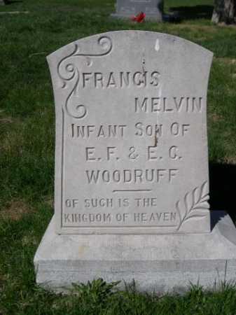 WOODRUFF, FRANCIS MELVIN - Dawes County, Nebraska | FRANCIS MELVIN WOODRUFF - Nebraska Gravestone Photos