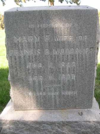 WOODRUFF, MARY E. - Dawes County, Nebraska | MARY E. WOODRUFF - Nebraska Gravestone Photos