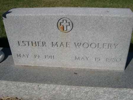 WOOLERY, ESTER MAE - Dawes County, Nebraska | ESTER MAE WOOLERY - Nebraska Gravestone Photos