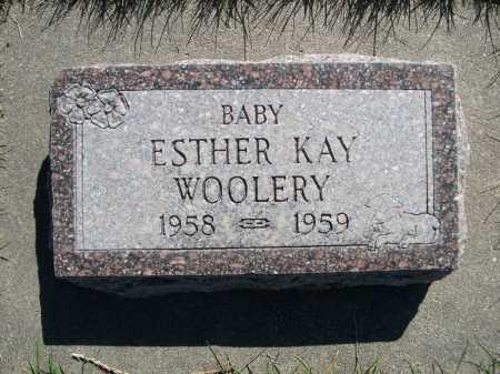 WOOLERY, ESTHER KAY - Dawes County, Nebraska | ESTHER KAY WOOLERY - Nebraska Gravestone Photos